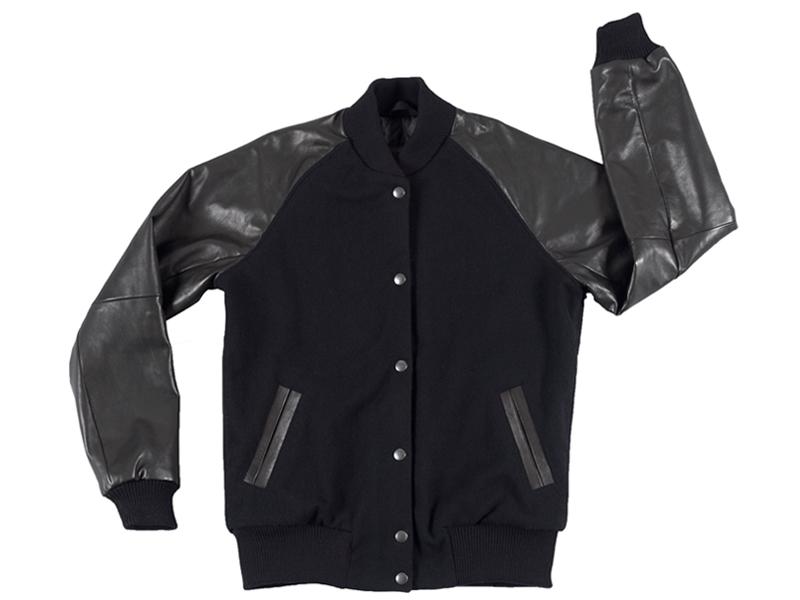 Raglan-Women-Leather-Black